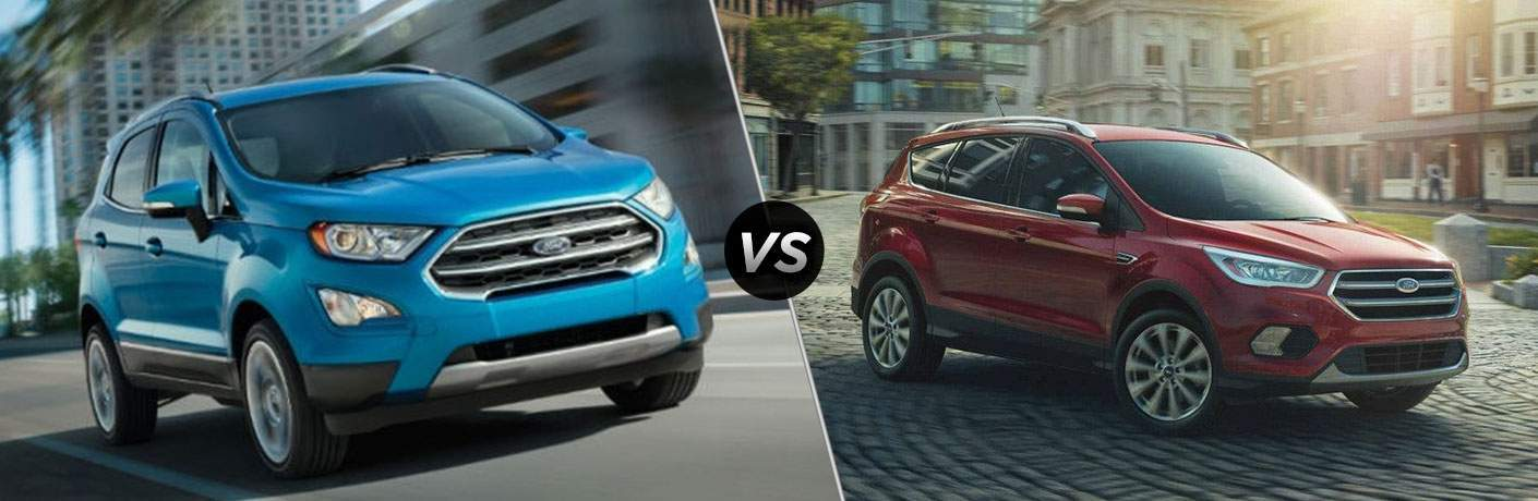 Image Result For Ford Ecosport Vs Escape