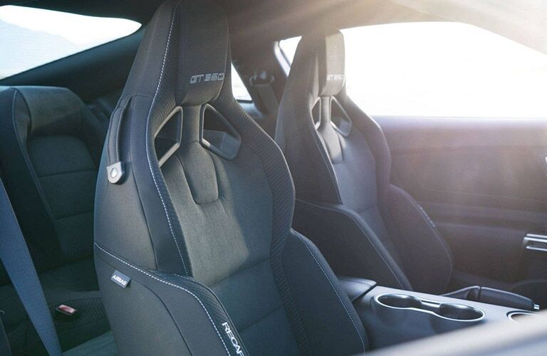 2018 Ford Mustang Shelby GT350 Sport Seats