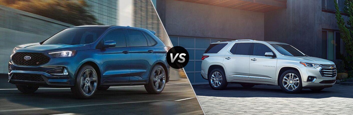 2019 Ford Edge vs 2019 Chevy Traverse