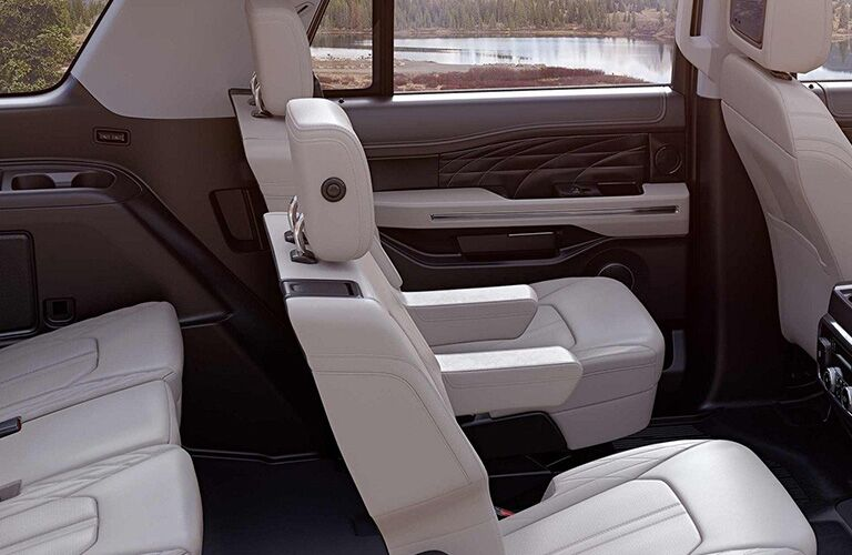 Cutaway View of 2019 Ford Expedition Rear Seat Interior