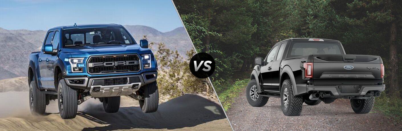 2019 Ford Raptor vs 2018 Ford Raptor