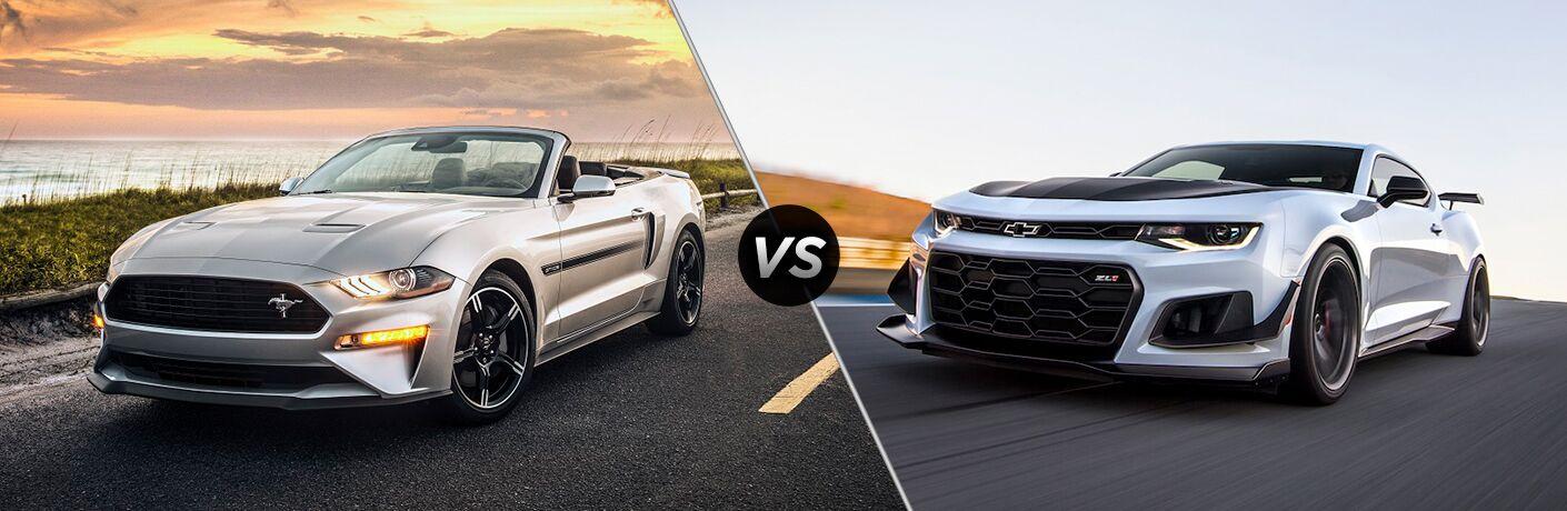 2019 Ford Mustang vs 2018 Chevy Camaro