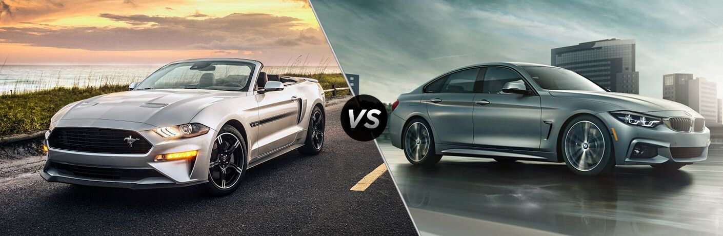 2019 Ford Mustang vs 2019 BMW 4 Series