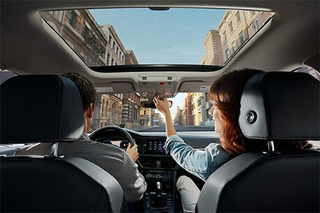 2019 Volkswagen Jetta's Panoramic sunroof