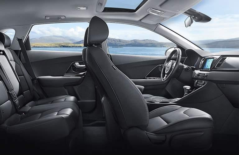 2017 Kia Niro interior overview shot