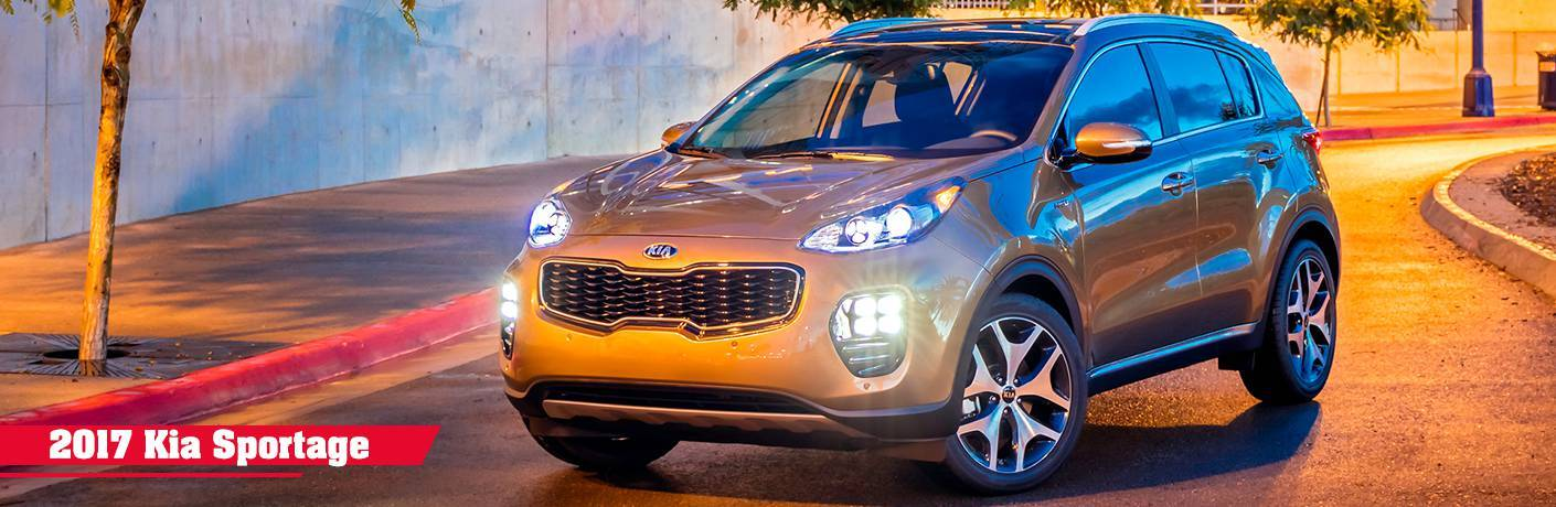 2017 Kia Sportage front side view