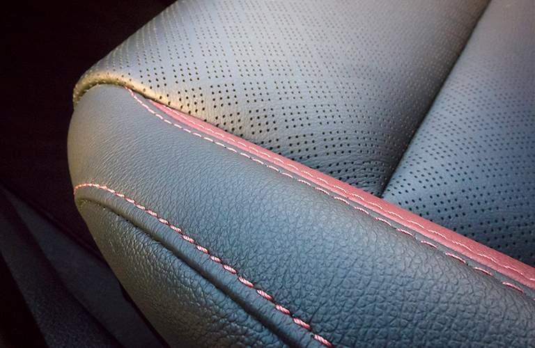 2018 Kia Rio upholstery stitching