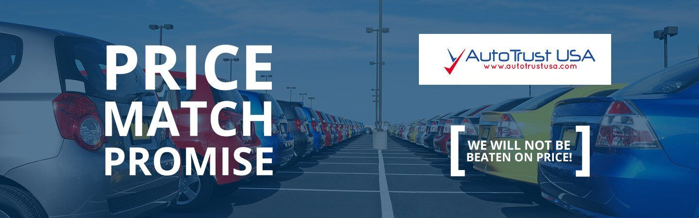 Pre-Owned Vehicle Price Match Guarantee in Miami FL at AutoTrust USA