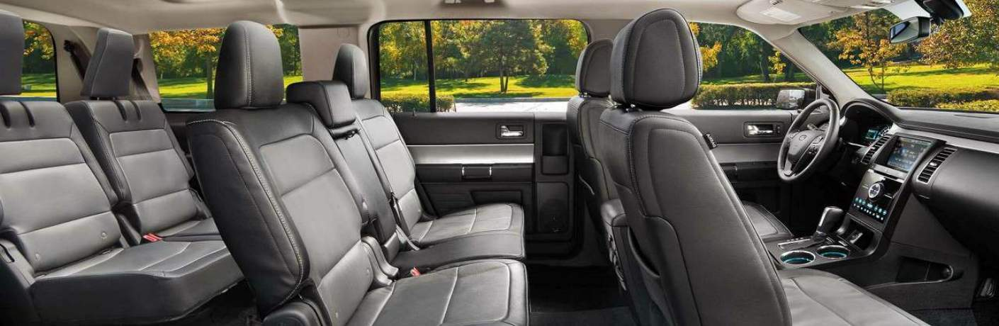 Three Rows of Seats Inside the 2018 Ford Flex