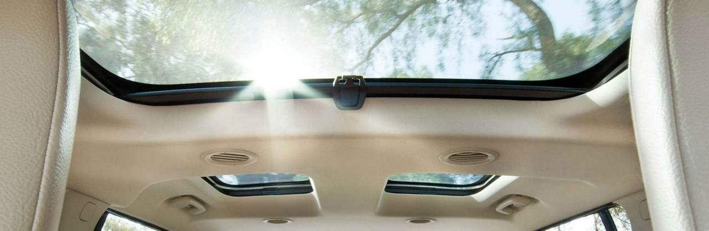 Available Vista Roof on the 2018 Flex