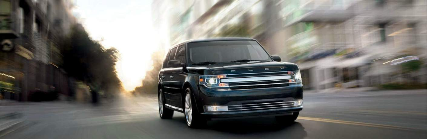 2018 Ford Flex Zooming Through the City