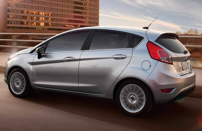 2017 Ford Fiesta Ignot Silver