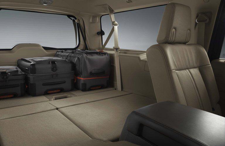 2017 Navigator fold flat seats