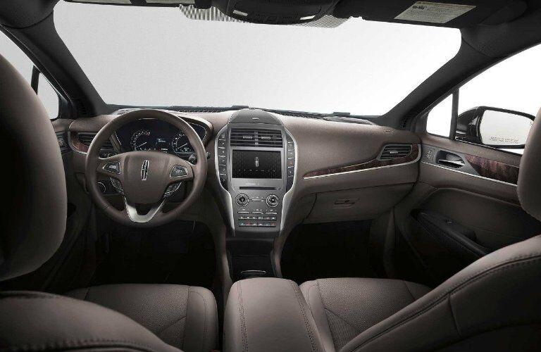 2017 MKC interior features