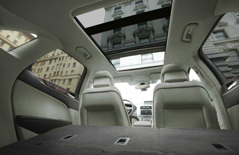 2017 MKC interior versatility