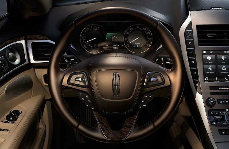 2017 Lincoln MKZ Black Label interior option