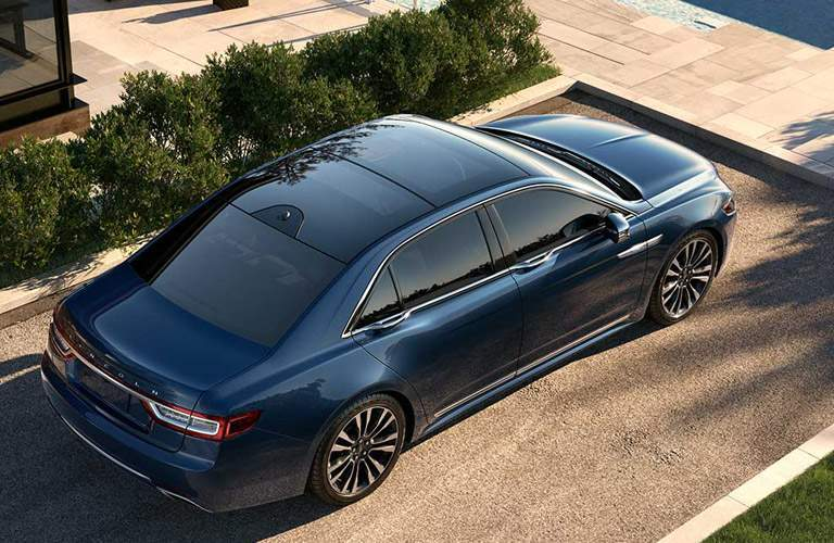 lincoln continental panoramic sunroof
