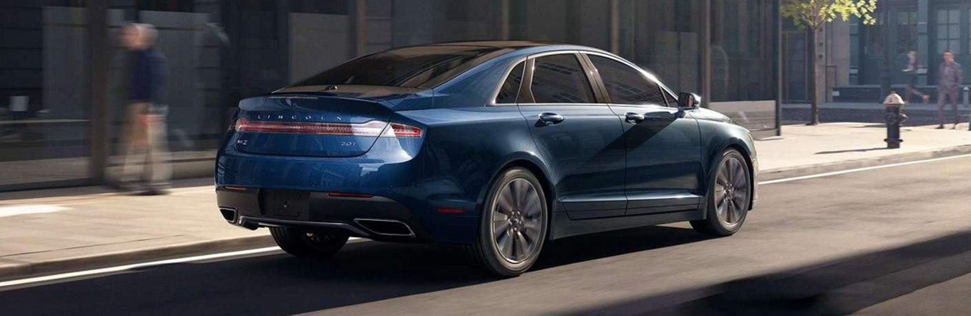 2018 MKZ Driving Down Road