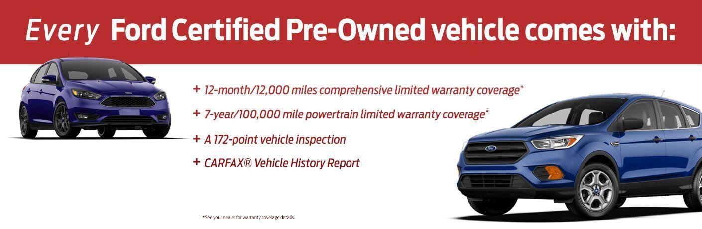 Bradley Ford Certified Pre-owned Warranty