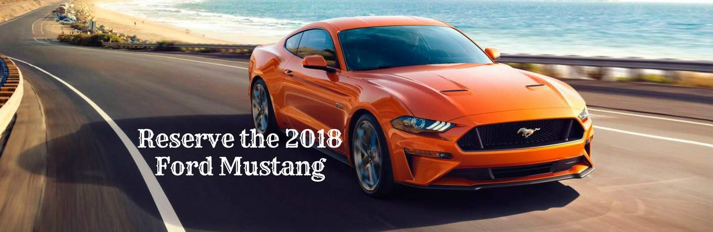 Reserve the 2018 Ford Mustang in Lake Havasu City AZ