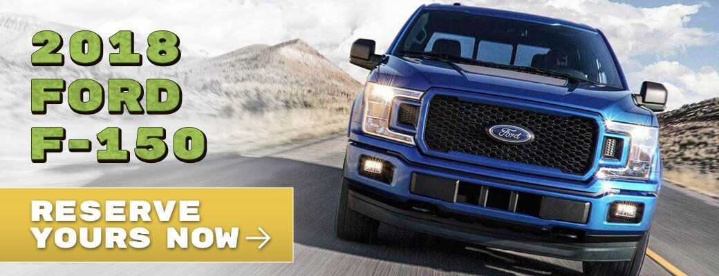 Reserve the 2018 Ford F-150 in Lake Havasu City AZ