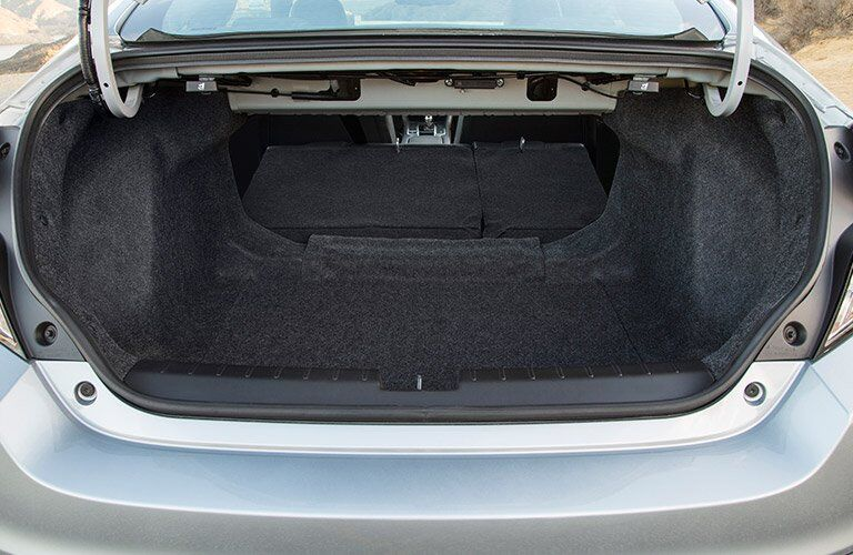 2017 Honda Civic Coupe trunk space