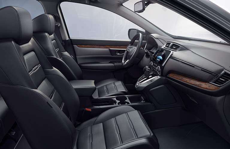 2017 Honda CR-V vs 2017 Nissan Rogue Interior