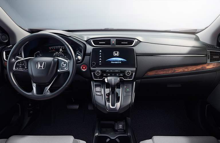 2017 Honda CR-V vs 2017 Nissan Rogue Technology