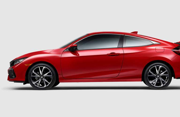 2017 Honda Civic Si from the side