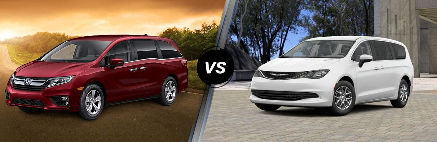 2018 Honda Odyssey vs 2018 Chrysler Pacifica