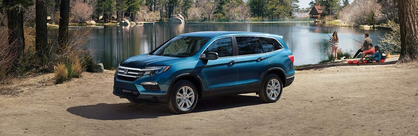 2018 Honda in Blue