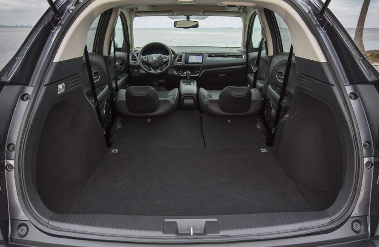 available cargo space in the 2017 Honda HR-V