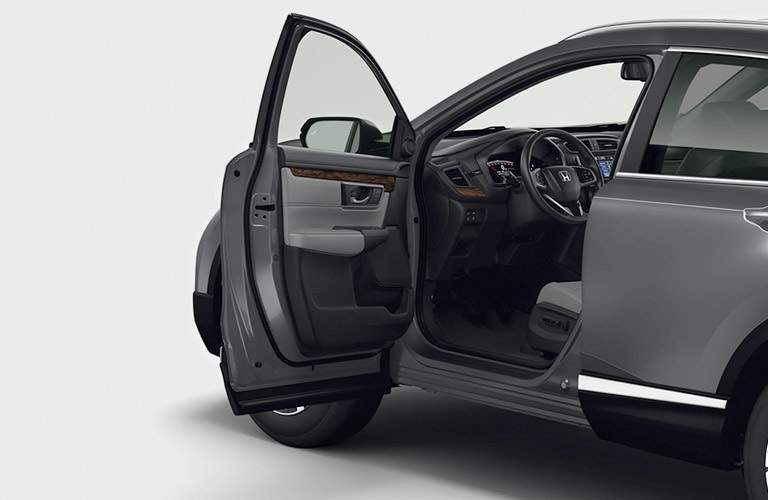 driver's door open on 2017 Honda CR-V