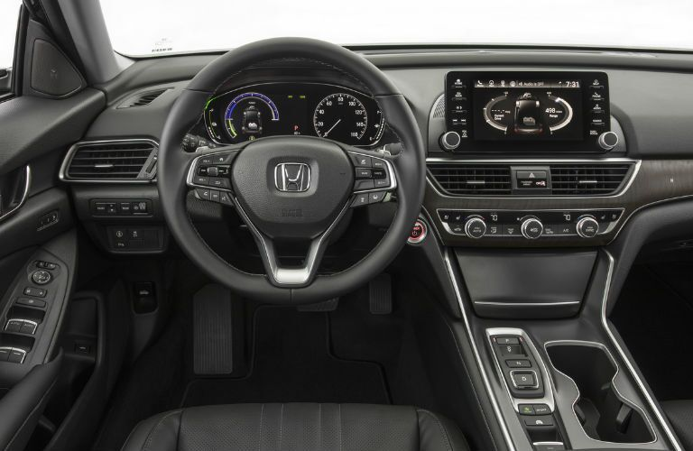 2018 Honda Accord Hybrid Command Center