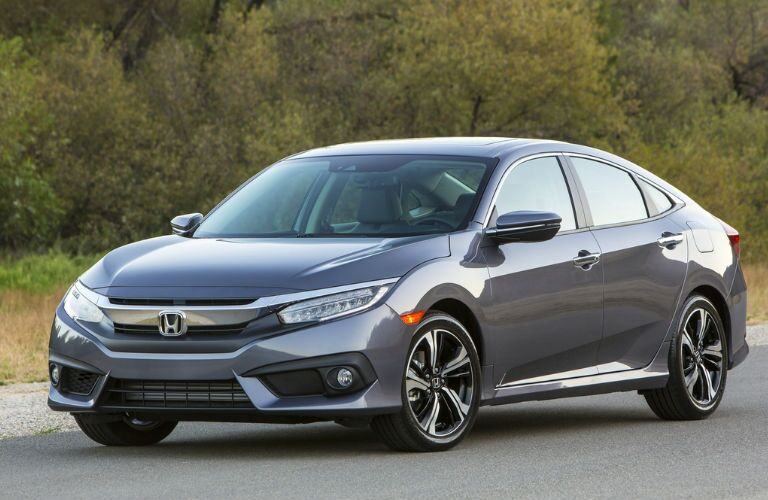2018 Honda Civic Sedan in Grey
