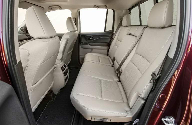 2018 Honda Ridgeline Backseat in Beige