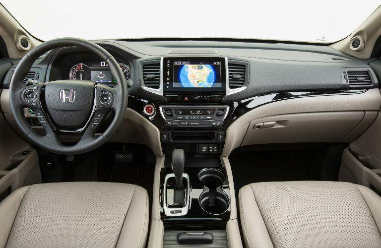 2018 Ridgeline Command Center with Beige Interior