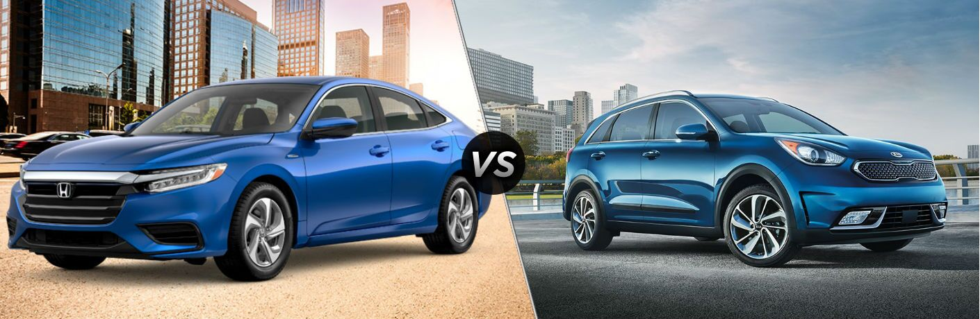2019 Honda Insight vs 2019 Kia Niro