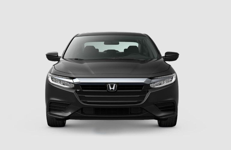 2019 Honda Insight LX gray front view