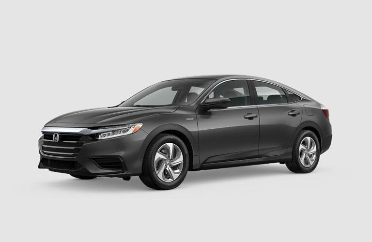 2019 Honda Insight LX gray driver's side view