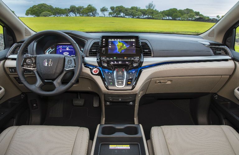 2019 Honda Odyssey Command Center in Beige