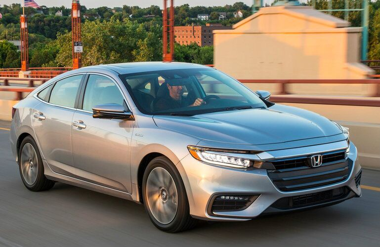 2019 Honda Insight in Silver