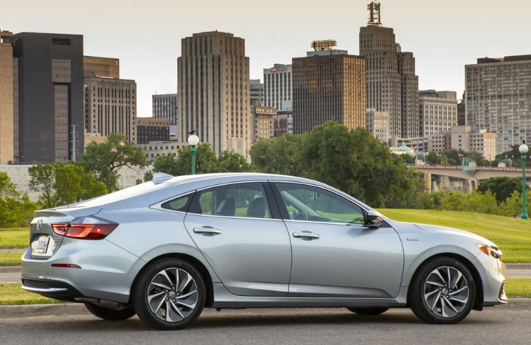 2019 Honda Insight in Silver Side View