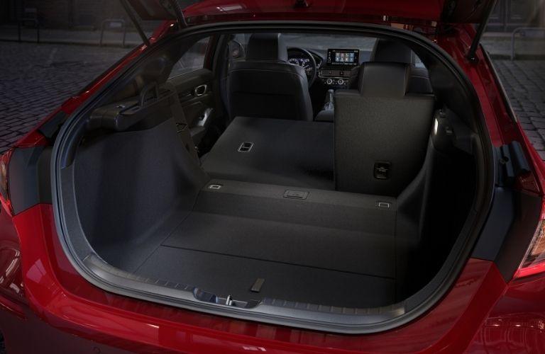 2022 Honda Civic Hatchback Rear Cargo Space
