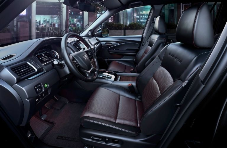 2022 Honda Pilot Black Edition Front Interior
