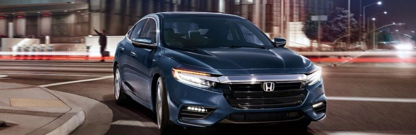 View of the 2020 Honda Insight on the road