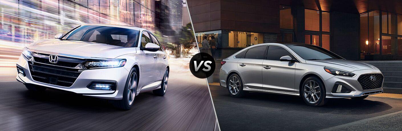 A side-by-side comparison of the 2019 Honda Accord Sedan vs. 2019 Hyundai Sonata.