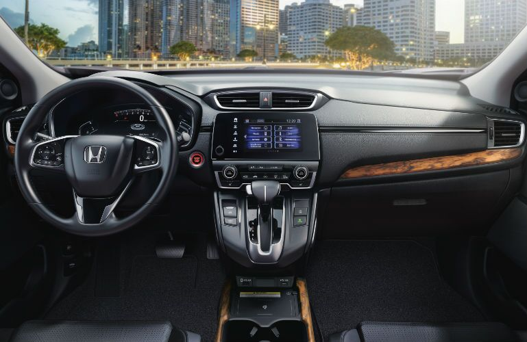 2021 Honda CR-V Steering Wheel, Dashboard and Touchscreen Display