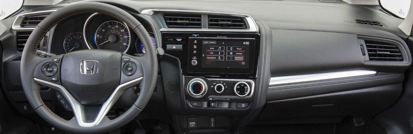 A photo of the dashboard in the 2020 Honda CR-V.