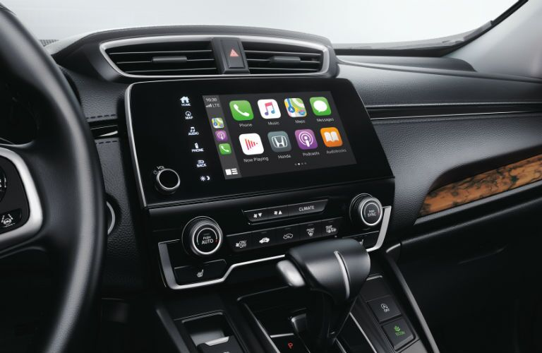 A photo of the touchscreen in the 2020 Honda CR-V.